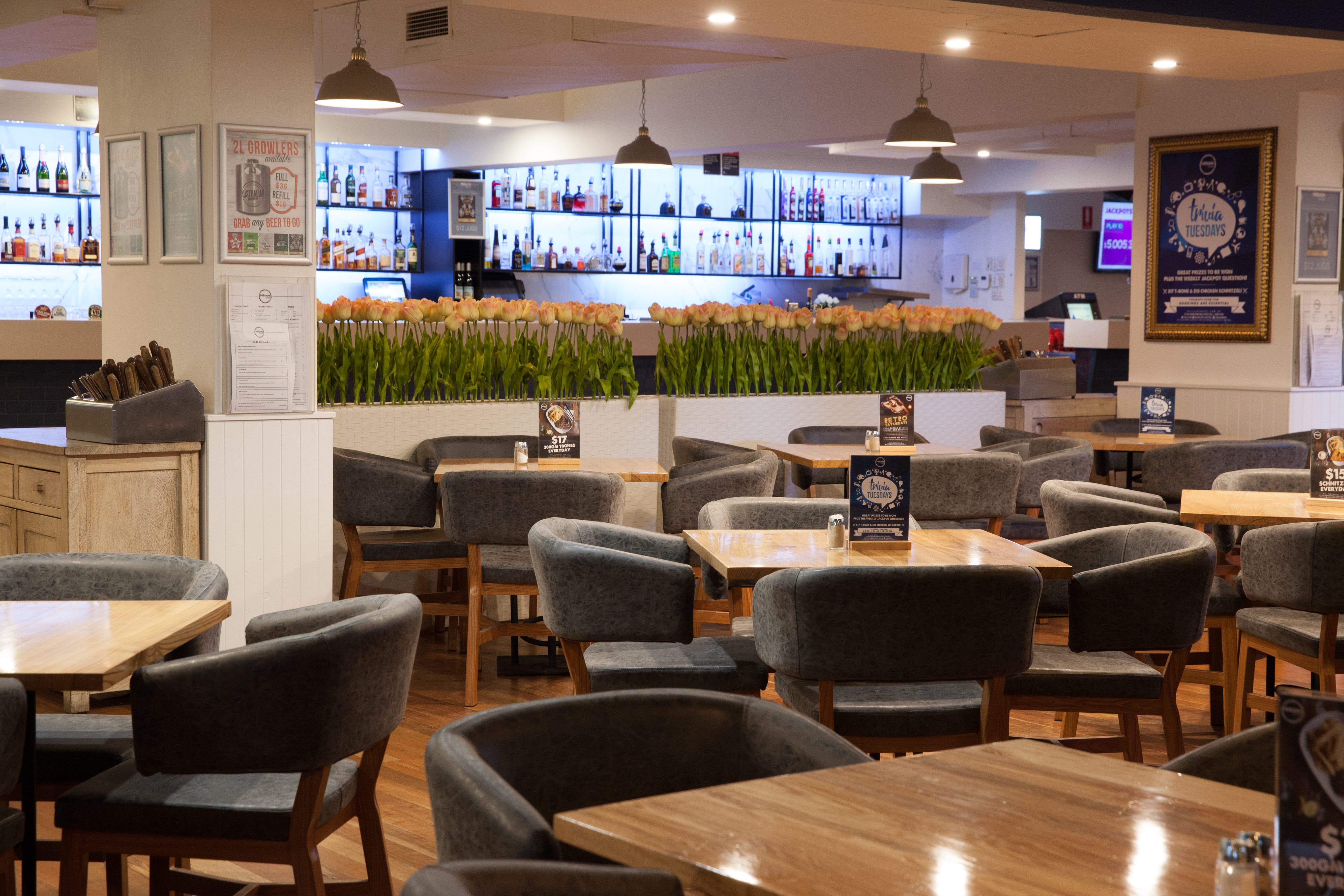 The Dining Room Hillside Hotel